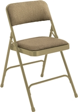 Premium Padded Fabric-Seat Executive Folding Chairs
