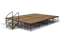 "12' x 16' - 24"" Economy Executive Stage Kit (Hardboard Finish)"