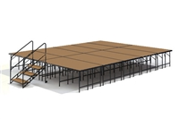 "16' x 20' - 32"" Economy Executive Stage Kit (Hardboard Finish)"