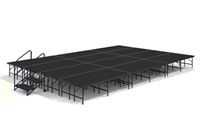 "16' x 24' 24"" High, Economy Executive Stage Kit (Poly Finish)"