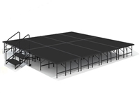 "16' x 16' - 24"" Economy Executive Stage Kit ( Poly Finish )"