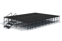 "16' x 20' - 32"" Economy Executive Stage Kit ( Poly Finish )"