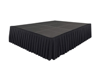 192 SQ. FT STAGE SYSTEM W/ SKIRTING  - 12 FT X 16 FT X 32""