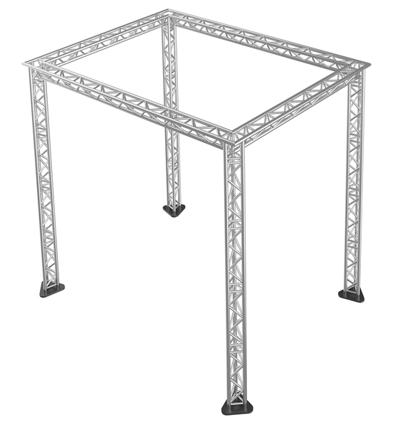 Trade show booth triangle truss packages for Truss package cost