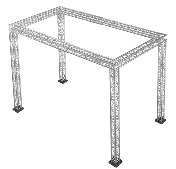 Trade show booth square truss packages for Truss package cost