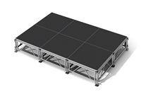 "96 Square Foot All-Terrain Stage Kit (12 Ft X 8 Ft) Height Adjustable To 24"" To 32"", 40"" And 48"" High"