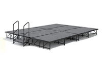 "12' x 16' - 8"" Economy Executive  Portable Stage Kit ( Carpet Finish)"
