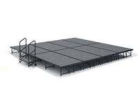 "16' x 16' - 16"" Economy Executive  Portable Stage Kit ( Carpet Finish )"