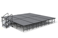 "16' x 16' - 24"" Economy Executive Stage Kit ( Carpet Finish )"