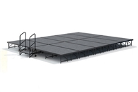"16' x 20' - 16"" Economy Executive  Portable Stage Kit ( Carpet Finish )"