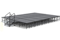 "16' x 20' - 24"" Economy Executive Stage Kit ( Carpet Finish )"