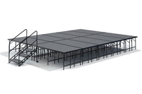 "16' x 20' - 32"" Economy Executive  Portable Stage Kit ( Carpet Finish )"