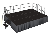 12' x 16' Poly Finished Dual Height Executive Stage Kit