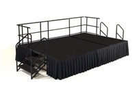 12' x 8' Poly Finished Dual Height Executive Stage Kit