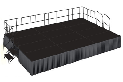 16' x 24' Poly Finished Dual Height Executive Stage Kit