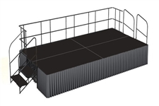 Dual Height Poly finished 8' x 16' Executive Stage Kits