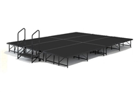 12' x 16' Poly Finished Dual Height Economy Executive Stage Kit
