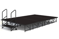 12' x 8' Poly Finished Dual Height Economy Executive Stage Kit