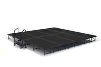 16' x 16' Poly Finished Dual Height Economy Executive Stage Kit