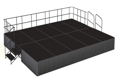 16' x 20' Poly Finished Executive Stage Kit