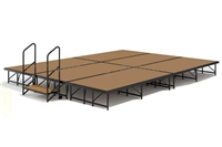 "12' x 16' - 16"" Economy Executive Stage Kit (Hardboard Finish)"