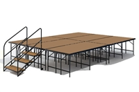 "12' x 16' - 32"" Economy Executive Stage Kit (Hardboard Finish)"