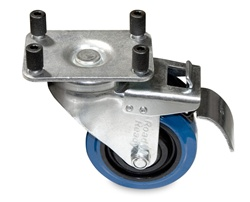 4 Pack Of Casters With Brakes