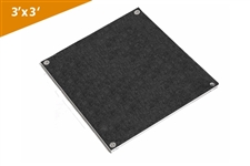 3' X 3' Carpet Finish Square Platform (2 Pcs)