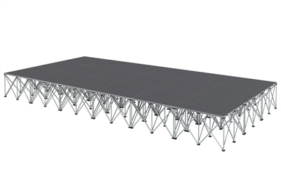 144 SQ. FT STAGE SYSTEM - 12 FT X 12 FT X 24""
