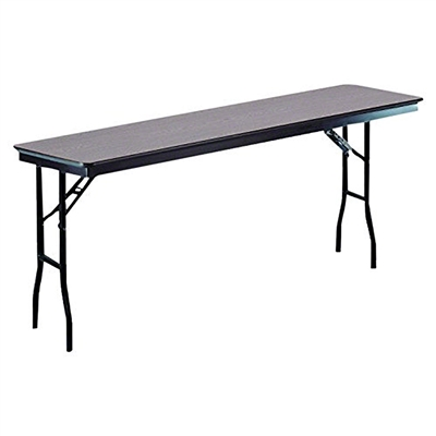 "Midwest Folding 18""x72"" Standard Seminar Folding Table, Laminate Surface"