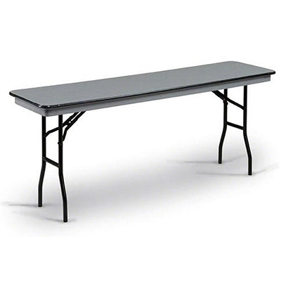 "Midwest Folding 18""x72"" Standard Seminar Folding Table, Hexalite® Surface"