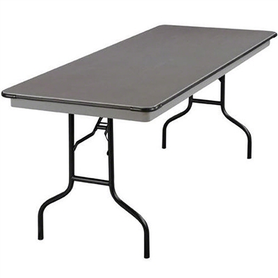 "Midwest Folding 30""x72"" Rectangular Folding Table, Hexalite® Surface"