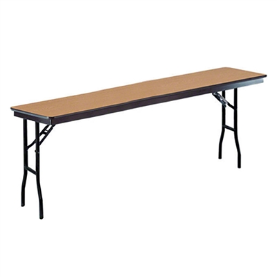 "Midwest Folding 18""x96"" Standard Seminar Folding Table, Laminate Surface"