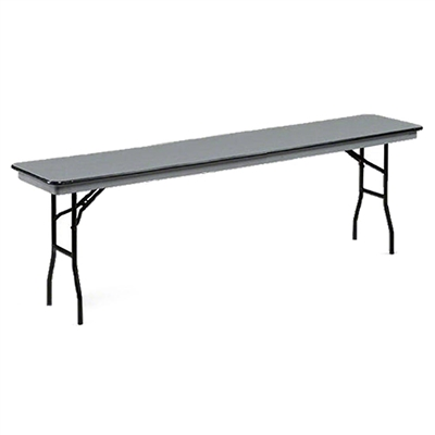 "Midwest Folding 18""x96"" Standard Seminar Folding Table, Hexalite® Surface"