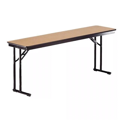 "Midwest Folding 18""x96"" Comfort Leg Seminar Folding Table, Laminate Surface"