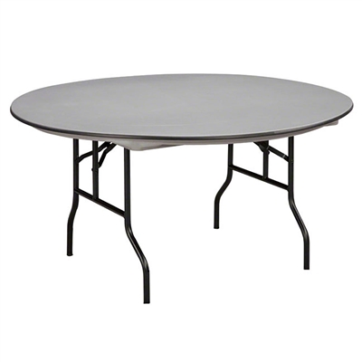 "Midwest Folding 60"" Round Folding Table, Hexalite® Surface"