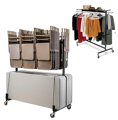 National Public Seating Storage Truck for Folding Chairs, Tables and Coats