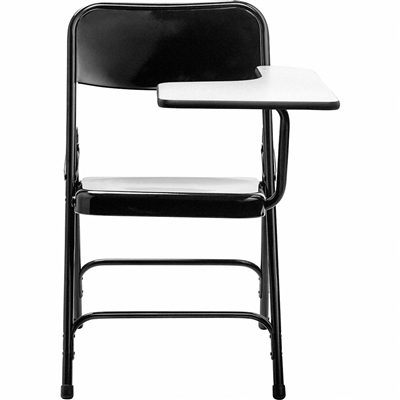 National Public Seating 5210L Premium All Steel Folding Chair With Tablet-Arm, Left