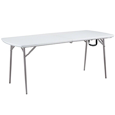 "National Public Seating BMFIH3072 30""x72"" Fold in Half Table"