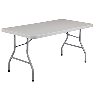 "National Public Seating BT3060 30""x60"" Rectangular Folding Table"