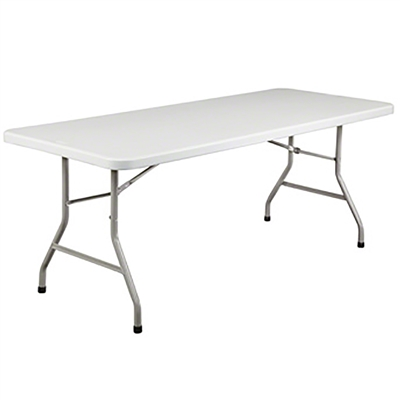 "National Public Seating BT3072 30""x72"" Rectangular Folding Table"