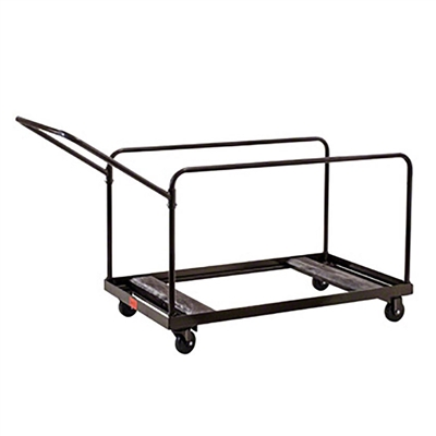 National Public Seating DY60R 5-Foot Round Folding Table Dolly