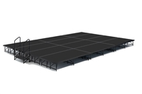 "16' x 24' 8"" High, Economy Executive Portable Stage Kit (Poly Finish)"