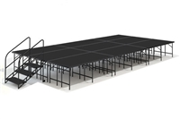 "12' x 24' - 32"" Economy Executive Stage Kit ( Poly Finish )"
