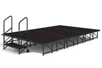 "12' x 8' - 8""  Economy Executive Stage Kit ( Poly Finish )"