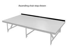 Dual Height Staging Chair Stops ( choose from 2 types)