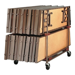Folding Stages Standing Riser Caddy