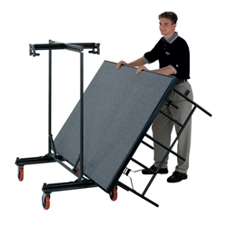 Folding Stage and Riser Caddy