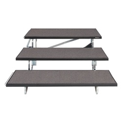Tapered Standing Choral Riser (Carpet Finish. Available in 3 height choices)