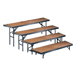 Tapered Standing Choral Riser (Hardboard Finish. Available in 3 height choices)